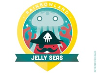 Rainbow Badges 07 - Jelly Seas
