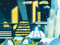 Tomorrowville 2085 - cityscape part 02