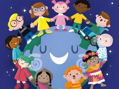 Calendar 2017 - Love All Kids of the World