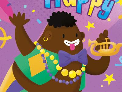 Happy Mardigras