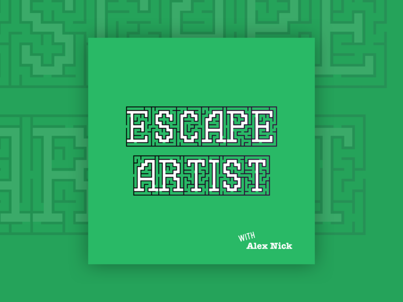 Escape Artist Podcast Cover Concept 12