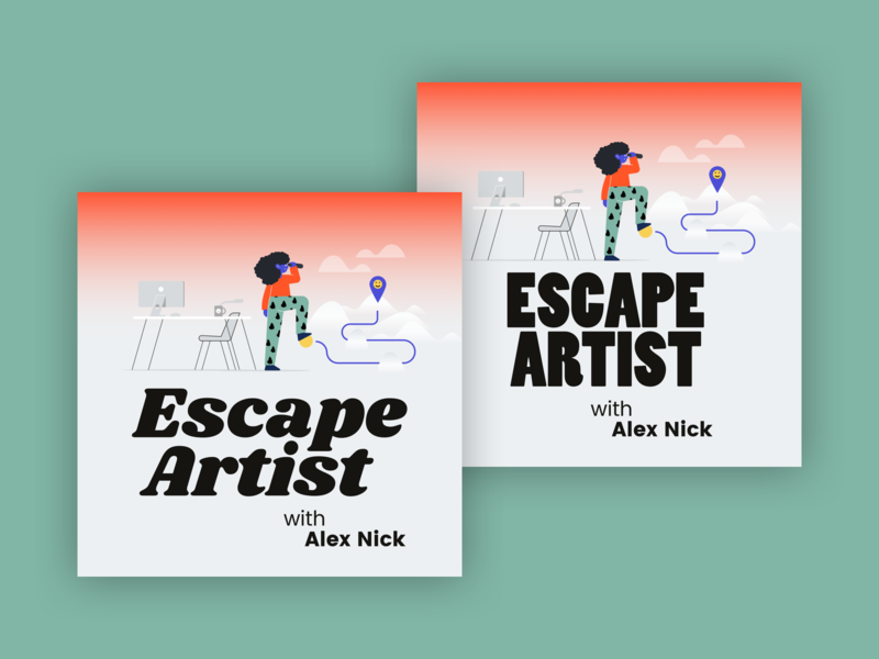 Escape Artist Podcast Cover Concept 17
