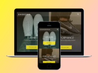 SHOEZOO Website Concept