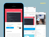 Hoppy - Video Education App Concept