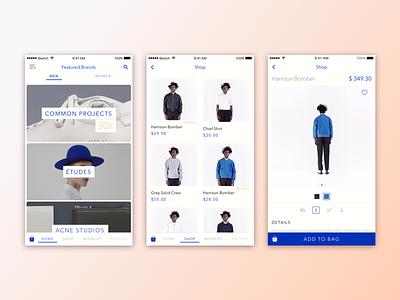 M-Commerce App Design sale ui app style fashion shopping mcommerce
