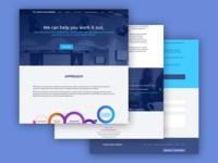 Podziba Policy Mediation Website Redesign