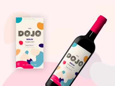 Dojo Wine Label 2