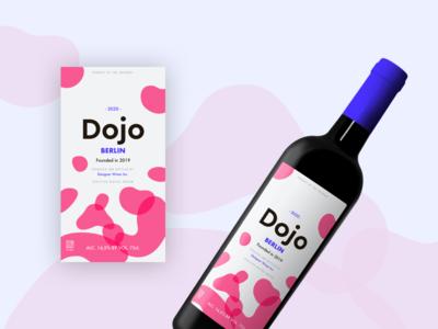 Dojo Wine Label 3