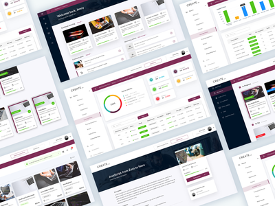 Create LMS e-Learning Platform web application web ux design employee management employee augmented reality data visualization reports dashboard app application app design app dashboard ui onboarding hr software e-learning dashboad