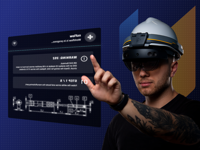 nsFlow Hands-Free Training remote support remote training manufacturing ar glasses vr virtual reality reports employee design dashboard app dashboad augmented reality application app design app