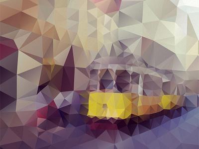 Amarelo Da Carris geometric tram