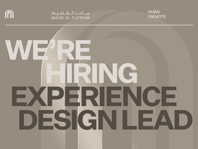 Are you passionate about leading UX and the lifestyle industry? uxui ui design shoping malls food experience entertainment design cinema app design