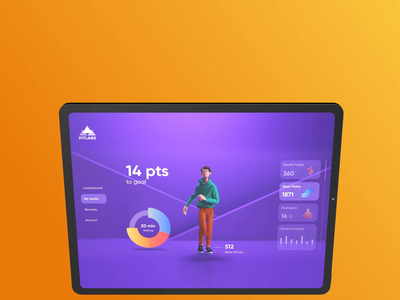 Meet FitLabs motion design motion illustraion 3d exercise fitness app fitness
