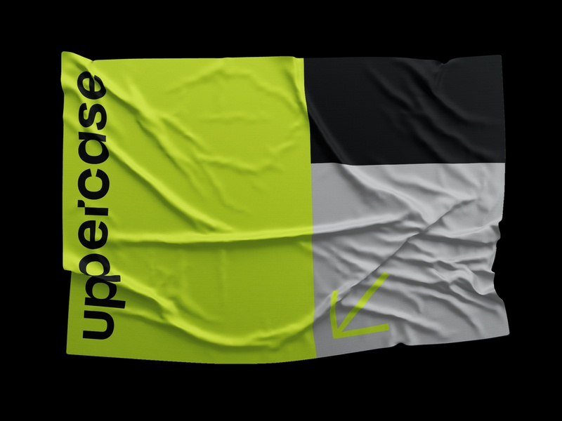 Uppercase flag