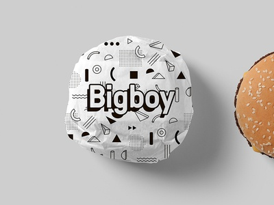 Bigboy Burger Bw