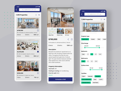 Real State Mobile App apartments uiux mobile app uidesign real state realstate zillow realtor sorting apartments for sale apartament user experience userinterface mobile ui mobile app design app ux ui house home