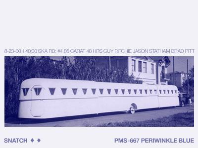 ♦ caravan periwinkle snatch film