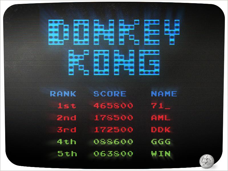 #DailyUI 019 - Leaderboard donkey kong high score daily ui arcade game ui design leaderboard