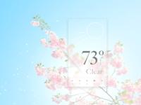 #DailyUI 037 - Weather