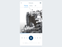 DailyUI - 009 - Music Player