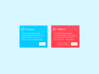 DailyUI - 011 - Flash Message  Error   Success