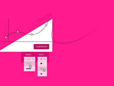 #DailyUI - 033 - Customize Product dropdown style customize data series plot graph chart ux ui dailyui
