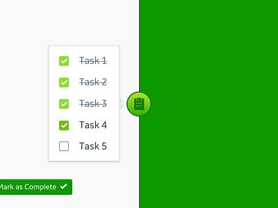 DailyUI - 042 - To Do List productivity widget list checkbox ux task ui aviation dailyui