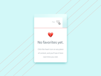 DailyUI - 044 - Favorites