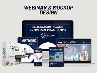 Webinar & MockupDesign web webdesign website banner web banner mockup design mockup webinar design webinar banner design