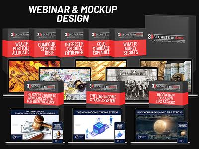 Webinar & MockupDesign webdesign website banner web banner webinar design webinar banner business banner banner ad banner design