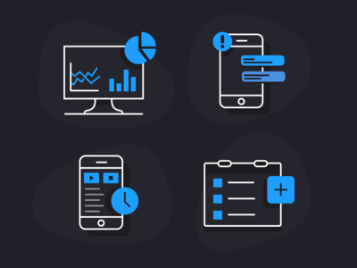 Software/tech icons