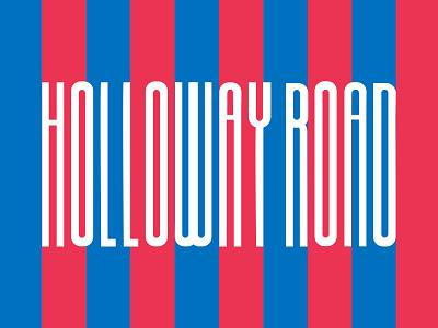 Holloway Road logo logo lettering london branding brand