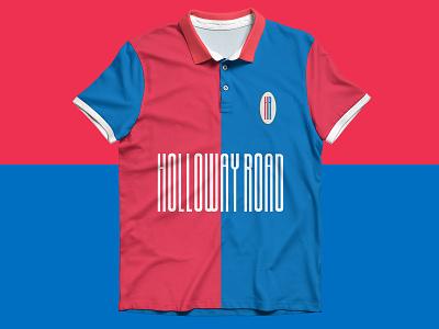 Holloway Road t-shirt texture t-shirt identity branding branding identity brand art direction typography branding