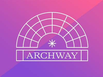 Archway logo lettering london identity branding branding art direction brand