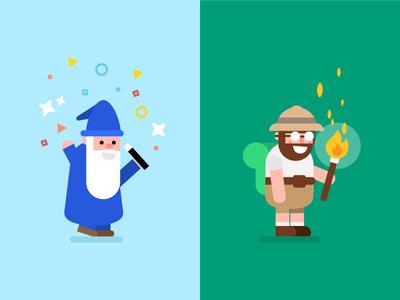 Wizard & Traveller