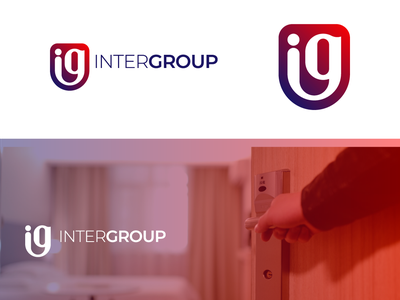 Inter Group print ui branding logo