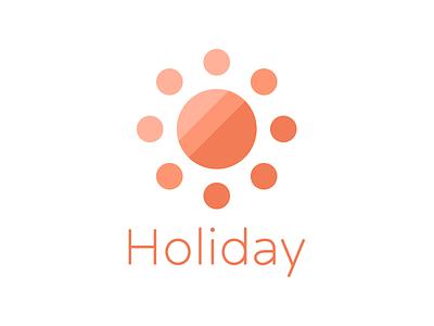 Holiday illustration logo
