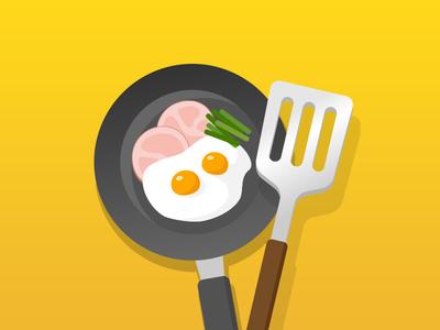 Cooking icon illustration