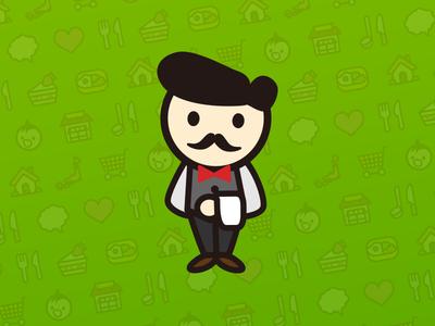 Cafe Master icon illustration