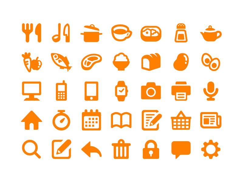 Cookpad Symbols By Kazuyuki Motoyama Dribbble