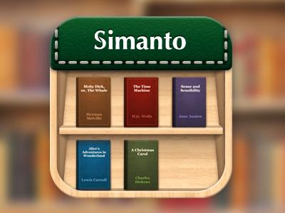 Simanto App Icon icon app design ui design