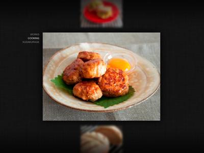 Simple Artwork Gallery web design ui design website