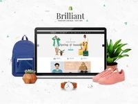 Brilliant - Multi Store Responsive Shopify Theme