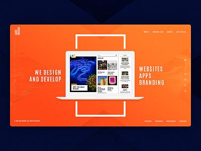 Just Design Studio behance user interface digital design interaction design wireframe idea template concept htmlcss css html webanimation web landingpage uiuxdesign uxdesigner uidesign uiux uikit ui