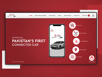 Toyota Connect Pakistan - UI|UX