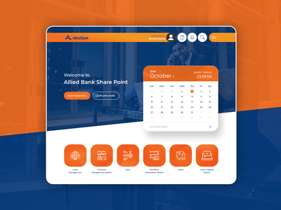 Allied Bank Sharepoint Design