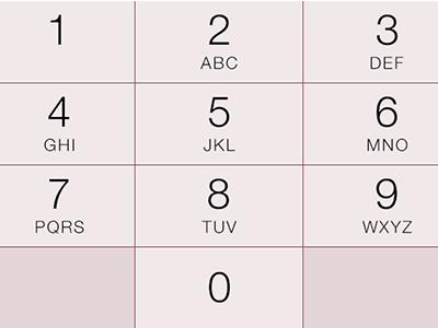iOS 7 10 Key Keyboard