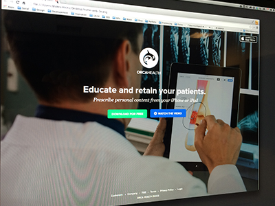 Orca Health Website