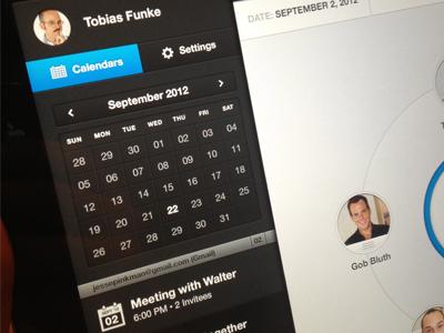 iPad Screen ipad ios drawer button ui profile app ios app ipad app