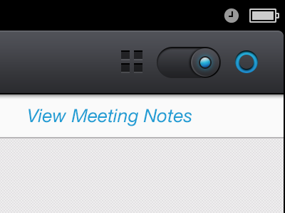 Toggle View Switch ui ios ipad switch interface texture